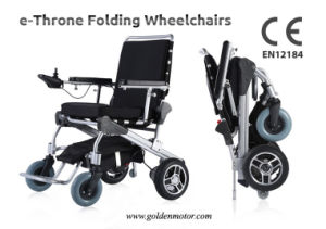 E-Throne Folding Wheelchair for Handicaped, Elder pictures & photos
