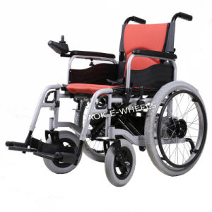 250W Brushless Motor Foldable Electric Wheelchair (PW-005) pictures & photos