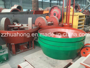 Commercial Wet Stone Grinder/ Gold Mining Pans / Wet Pan Mill pictures & photos