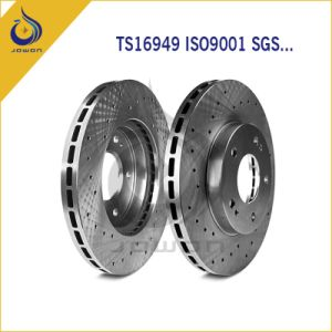 Auto Spare Parts Brake Rotor Pads Brake Disc with Ts16949 pictures & photos