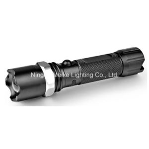 CREE Rechargeable Focus Zoom Aluminium LED Flashlight (MK-1171)