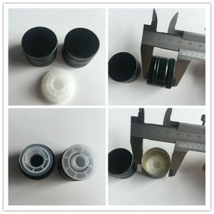 Aluminum Caps with Drop Stop Closures for Glass Bottle for Olive Oil.