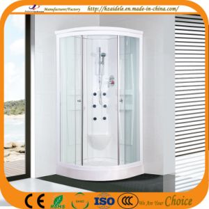 White Painted Aluminum Frame Shower Cubicle (ADL-822) pictures & photos