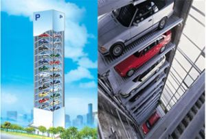 Vertical Lift Type Parking Garage pictures & photos