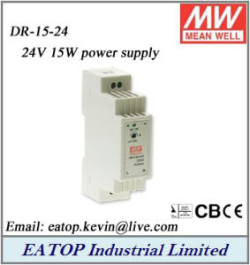 DR-15-15 MEAN WELL Din-Rail power supply 12W MeanWell