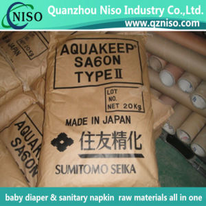 Sumitomo SA60n Super Absorbent Polymer (SAP) for Sanitary Napkin pictures & photos