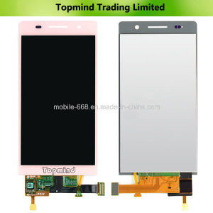 Pink LCD for Huawei Acend P6 LCD Screen with Digitizer Touch