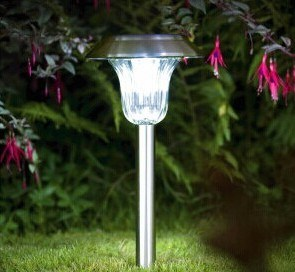 Stainless Steel Solar Garden Path Lights pictures & photos