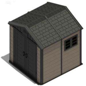 Garden Storage Shed Tool Box