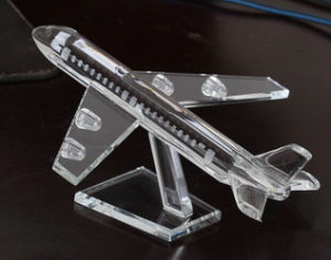 Souvenir & Promotional Gift Crystal Plane Model pictures & photos