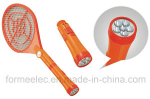 Rechargeable Electric Mosquito Swatter C6227 with LED Torch Mosquito Killer pictures & photos