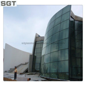4.38-38.38mm Tempered Laminated Glass, Curtain Wall pictures & photos