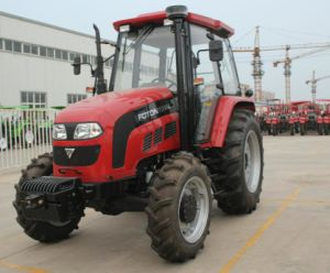 80HP 90HP Farm wheel Tractor with CE & OECD pictures & photos