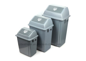 60 Liter Push Plastic Outdoor Trash Bin pictures & photos