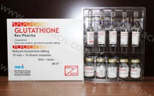 Real Glutathione 600mg 5+5, Glutathione for Skin Whitening pictures & photos