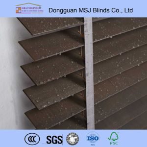 50mm Solid Basswood Venetian Blinds pictures & photos