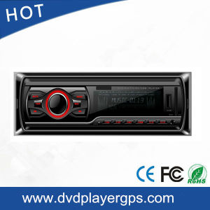 One DIN Car DVD VCD CD with MP3 MP4 Player