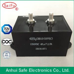 Welding Machining Cbb15 DC Link Capacitor pictures & photos