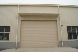 Industrial/Residential/Commercial Galvanized Steel Roll up Door, Steel Rolling Door pictures & photos