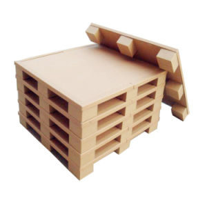Uro Storage Brown Paper Honeycomb 2-Way Pallet for Transportation
