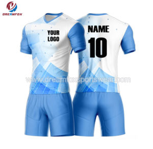 Custom Sportswear Football Shirts Sublimation Mens Dry Fit Soccer Jersey  with Your Own Logo 64bf625b2