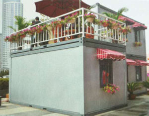 Prefab Flat Pack Container Refugee House /Labor Camp/ Shipping Container pictures & photos