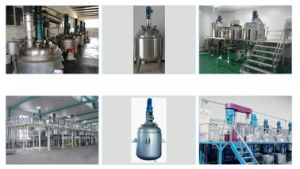 Electric Heating Slurry Mixing Tank for Cosmetic pictures & photos