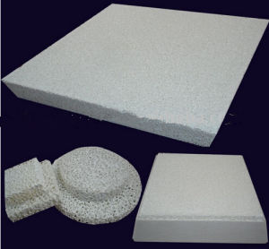 Alumina Ceramic Foam Filter Used in Alumina Casting pictures & photos