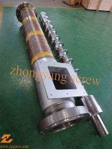 200mm Single Screw and Barrel with Copper Tube pictures & photos
