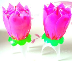 High Quality Singing Candles Music Flower Birthday Art