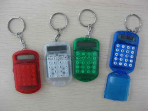 Trade Show Events Promotional Giveaways Mini Key Chain Calculator pictures & photos