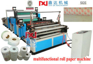Multifunctional Toilet Paper Roll Making Machine pictures & photos