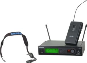 Slx14/Wl93 Musical Instrument Lavalier UHF Wireless Microphone