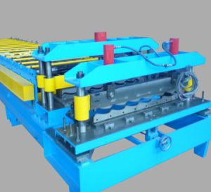 Steel Tile Cold Roll Forming Machine