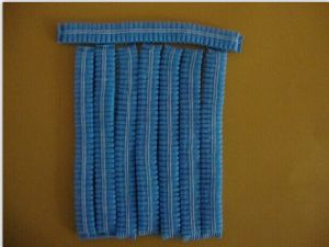 Non-Woven Disposable Hair Net with Double Elastic pictures & photos