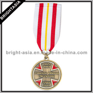 Custom Made Zinc Alloy Lanyard Medal for Organization (BYH-10890) pictures & photos