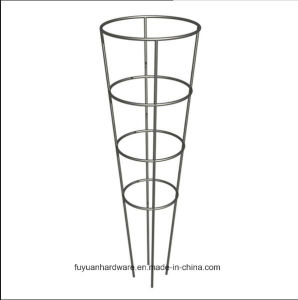 Factory Powder Coated Square and Round Tomato Cage pictures & photos