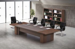 China Wooden M Melamine Large Office Conference Table Modern - Desk with meeting table