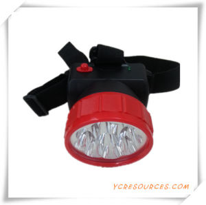 9 LED Head Light for Promotion (OS15003) pictures & photos