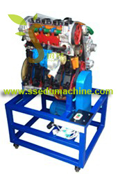 Diesel Engine Trainer Engine Didactic Equipment Engine Teaching Equipment