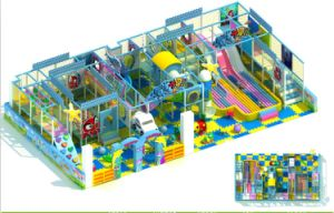 2014 Children Indoor Playground Equipment with TUV and GS Certificate (QQ-30013) pictures & photos