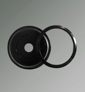 LED Lighting Lamp Aluminum Alloy Die Casting Circular Ring pictures & photos