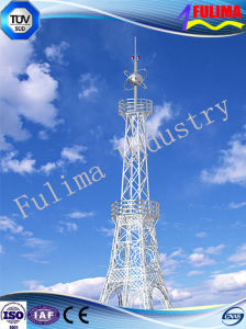 Microwave Communication Power Transmission Tower (angle steel tower) (FLM-ST-032) pictures & photos