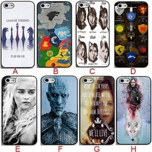 China Game of Thrones TV Show Coolest Black Hard Plastic Mobile ...