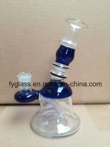 Mini Glass Smoking Water Pipe with Mix Colors pictures & photos
