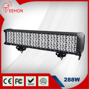 "Teehon 288W Epistar Four Rows LED Light Bar 23"" Inch UTV/ATV/SUV for off Road pictures & photos"