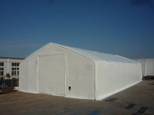 Xl-408021p Large Fabric Frame Warehouse Tent