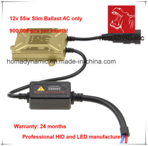 Quick Start HID Slim Ballast in 12V 45W/55W 24 Months′ Warranty pictures & photos