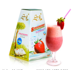 Slimming Strawberry Milk Shake, a Month Loss Weight 12kg