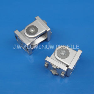 Zn-Alloy Joint Angle Bracket for Aluminum Profile 45 Series pictures & photos